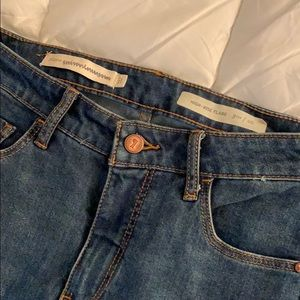 Pilcro and the Letterpress Jeans - Anthropologie Pilcro kick flare jeans